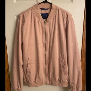 Zara mens bomber jacket-pink-Great condition